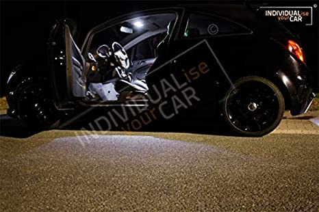 Innenraumbeleuchtung Set Für Corsa D 3 Türer Pure White Auto