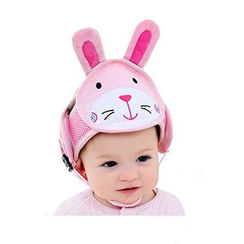 Bangxiu Casco de Seguridad Ajustable para bebés, Casco de protección para niños...