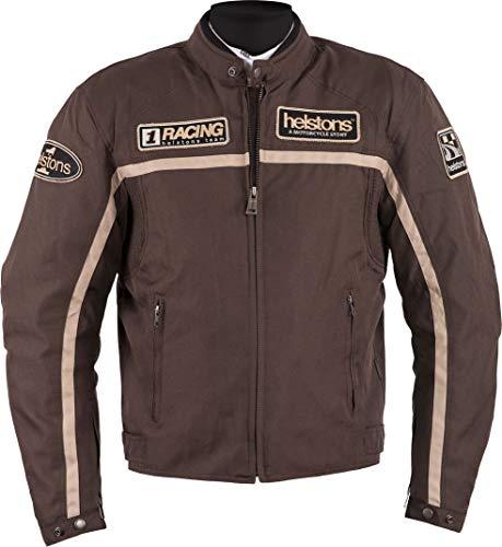 Helstons Motorradjacken Daytona Homme Tuch Technique Braun-Beige, Braun/Beige, XL