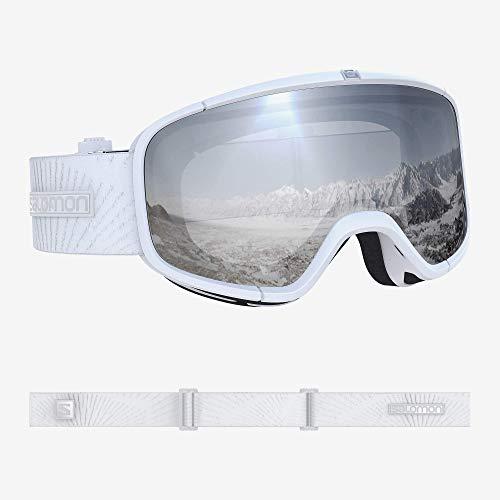 Salomon, Four Seven, Unisex-Skibrille, Weiß/Universal Super White, L40517000