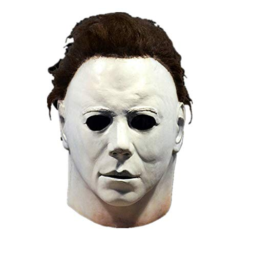 HY Michael Myers Halloween Horror Mask, Role Play, Film, Adult, Latex, Full...