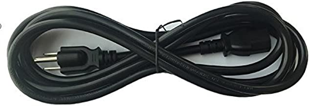 BYBON 25 FT 14 AWG SJT Universal Power Cord NEMA 5-15P to C13, UL Listed (Black)