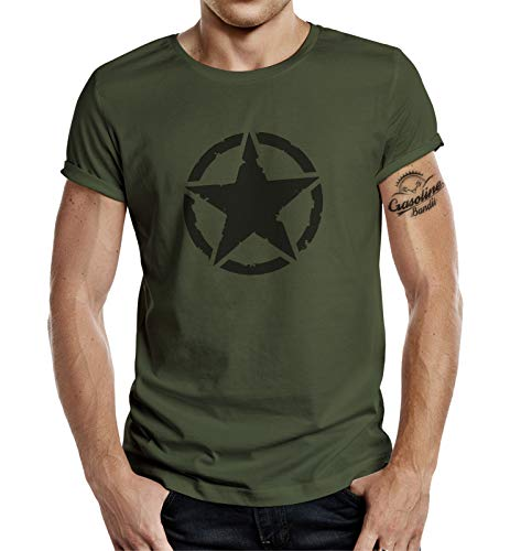 Classic T-Shirt für den US-Army Fan: Vintage Star L