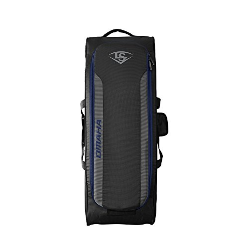 Louisville Slugger Omaha Rig Wheeled Bag – Navy