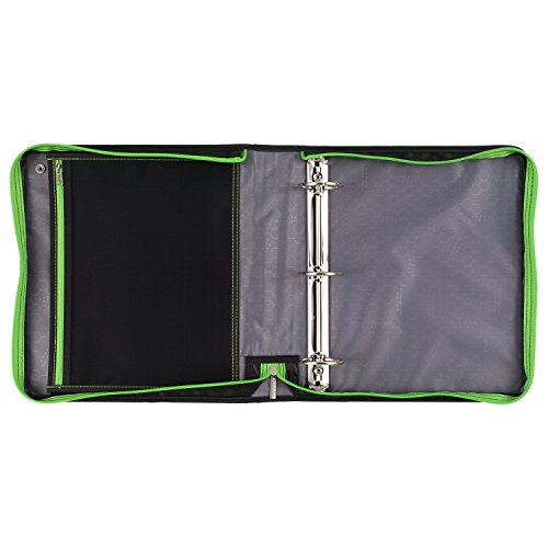 Five Star Sewn Zipper Binder, 2 Inch 3 Ring Binder With 4 Inch Capacity, Assorted Colors, Color Selected For You, 1 Count (28044) Photo #2