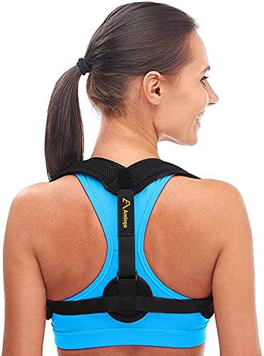 Corrector de Postura - Corrector de Espalda - Corrector Espalda Mujer - Corrector Espalda Hombre - Diseño Discreto (S-M)