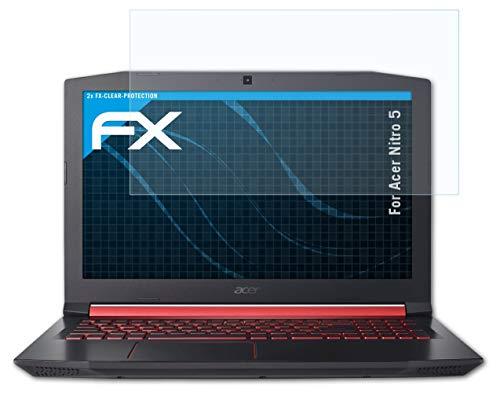 atFolix Schutzfolie kompatibel mit Acer Nitro 5 Folie, ultraklare FX Bildschirmschutzfolie (2X)
