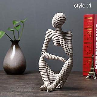 Symboat Statues Escultura Ornamentos Decorativos de Figure