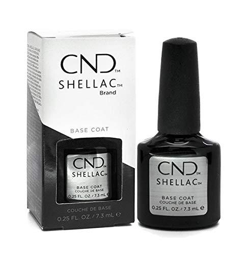CND Shellac Vernis à ongles en gel UV soak off de choisir parmi 89 couleurs Inc Toutes les collections et la nouvelle collection Garden Muse (allthingsbountiful) (Base Coat)