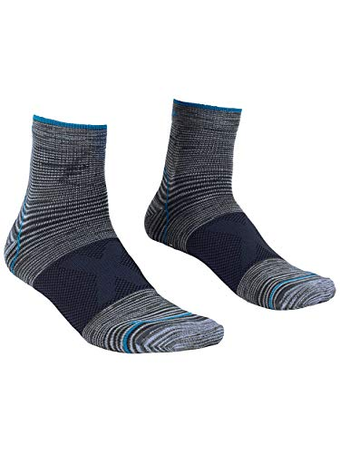 ORTOVOX Herren Alpinist Quarter Socken, Grey Blend, 42-44