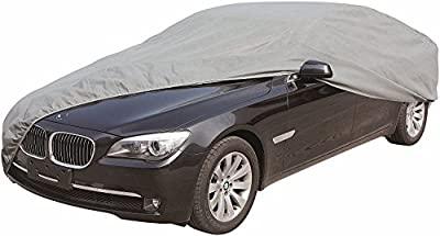 """CARTMAN Car Cover Sedan Cover Windproof/Dustproof/Scratch Resistant Outdoor UV Protection, Size:L - Fits Sedan up to 180"""""""