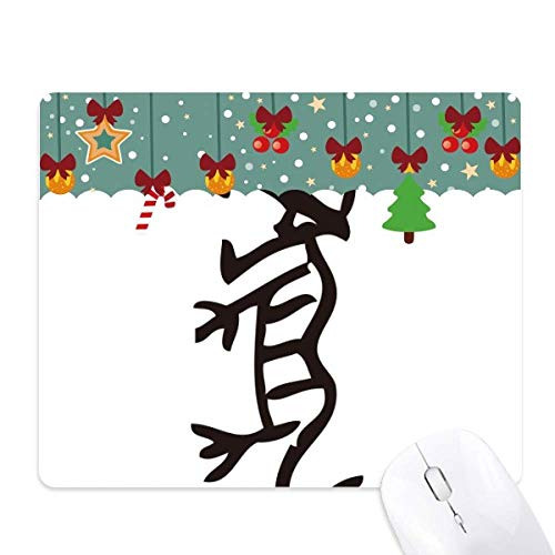Botten Inscripties Chinese Zodiac Tiger Mouse Pad Game Kantoor Mat Kerstmis Rubber Pad