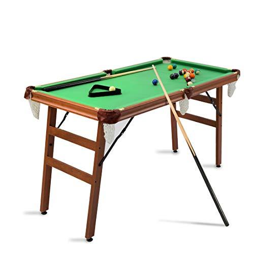 HJQ Mesa de Billar Mesa Snooker Plegable con Bolas 140 x 69...