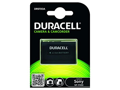 Duracell 00077423 batteria ricaricabile per Sony NP-FH50/NP-FH70/NP-FH30