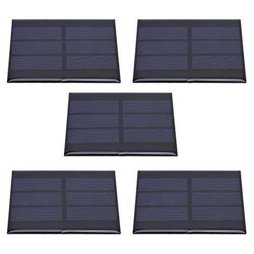 5 Stks Mini Zonnepaneel Module Systeem Thuis DIY Projecten Speelgoed Batterij Opladen Zonnecel Oplader 0.65 W DC1.5V