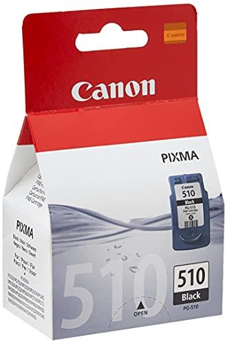 Canon Tintenpatrone PG-510BK - schwarz 9 ml - Original für Tintenstrahldrucker