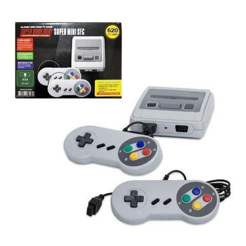 Console Super Classic Edition + 2 Controles + 600 Jogos Clássicos Nintendo