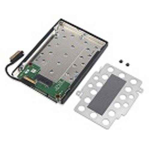 Lenovo 4XF0N82414 External Hard Drive M.2 SSD Enclosure Black, Grey - Network Hard Drive (M.2, M.2, SSD Enclosure, Black, Grey)