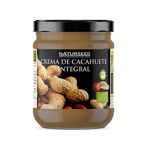 NATURSEED Crema de Cacahuete Organica 100% Natural Ecologica - Sin
