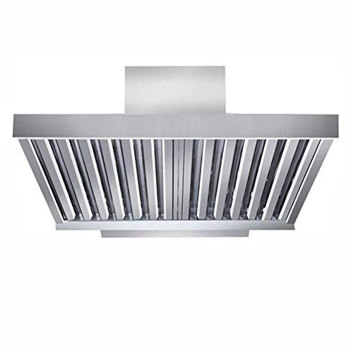 Grease Baffle Filter Canopy Extraction Stainless Steel Kitchen Hood Filters 395 x 395mm