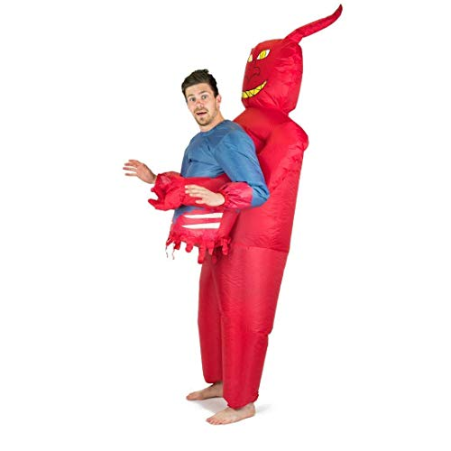 Bodysocks Fancy Dress Disfraz Hinchable de Diablo para Adultos