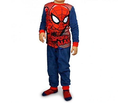 1732 Pijama de terciopelo para niños con motivo de
