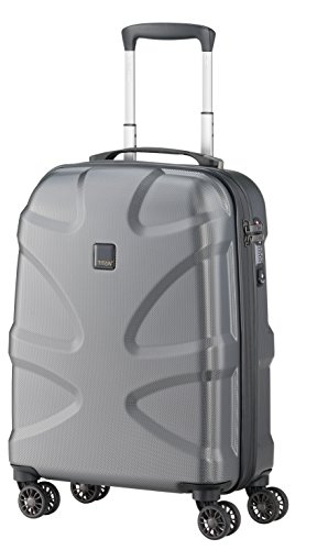 Titan X2 International Carry On Hartschale, 50,8 cm, gunmetal (Grau) - X2-GMTL