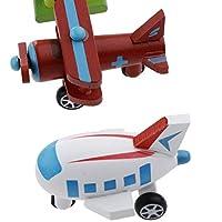 Generic 12 Parti in Legno di Aerei Ed Elicotteri, Abilità Motorie Fini, Coordinamento Occhio-Mano #1