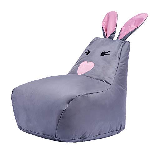 SD Bean Bag Chaise/Fauteuil Poire pour Enfant/Oreilles De Lapin/avec Mousse Ultra Confortable/pour Enfants Et Adultes/58 * 85 * 68 cm