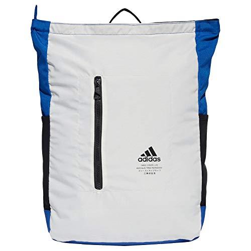 adidas Uni CLAS Top Zip Unisex Rucksack, Cwhite/Royblu/Black, 1size