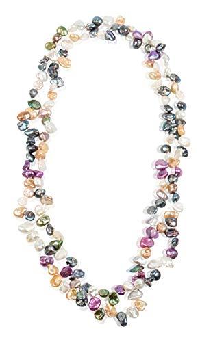 Minely Jewels Precioso Collar 120 cm Hecho Mano 160
