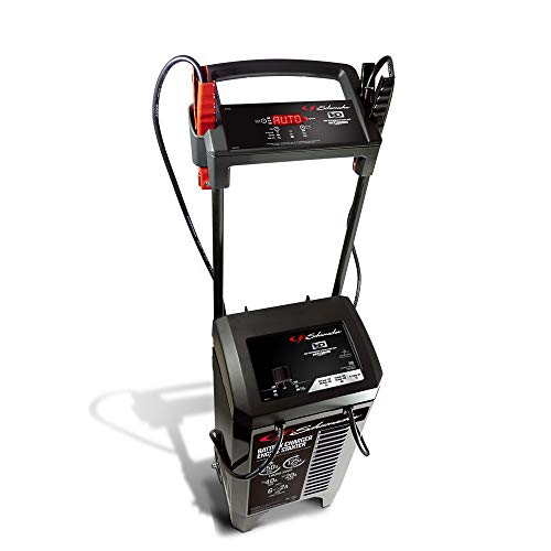 Schumacher SC1352 250 Amp 40 Amp 12V/24V Fully Automatic Smart Battery Charger with Engine Starter, Boost, and Maintainer for Cars, Trucks, SUVs, Marine, RV Batteries