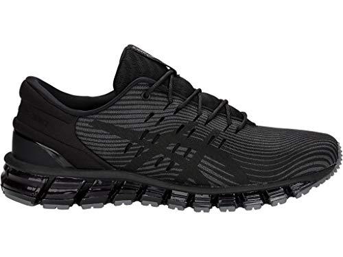 ASICS Men's Gel-Quantum 360 4 Running Shoes, 8.5M, Dark Grey/Black