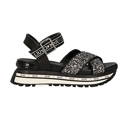 Liu Jo Sandalo Donna Modello Maxi Wonder Sandal 11 22222 Black, 37