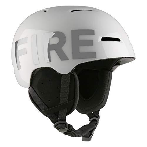 Bogner Ski-Helm Fire+Ice White (Größe: M - Kopfumfang 55-58cm)