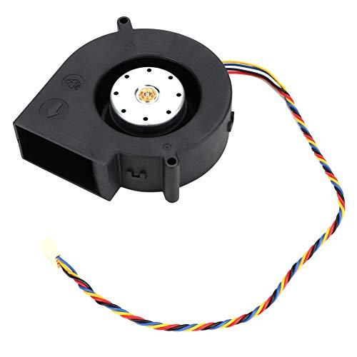 Cafopgrill Ventilador de enfriamiento Ventilador de Escape Ventilador de Escape de 12 V 6A Parrilla de Barbacoa Ventilador de enfriamiento Piezas de Repuesto Accesorios para Uso en Barbacoa