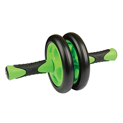 Fitness Mad FABWHEEL2, Ruota Unisex – Adulto, Verde/Nero, 40 cm