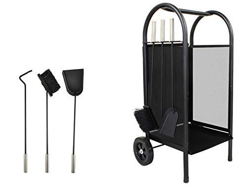 Kaminer Iso trade 811 Trolley für Kaminholz aus Metall