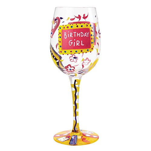 Lolita, Copa de vino con dibujos de cumpleaños, Enesco