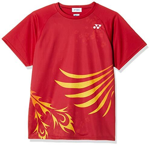 [ヨネックス] 半袖シャツ ドライTシャツ クレナイ (821) 日本 XO (日本サイズ3L相当)
