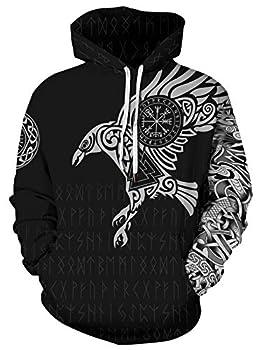 viking hoodies for men