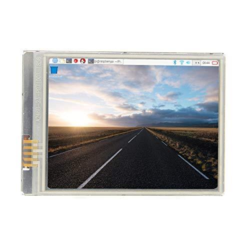 weichuang Elektronisches Zubehör 2,8 Zoll Schnellste 60+ fps HD Touchscreen 640x480 LCD Display für RPi 3 Modell B Plus /3B / Zero / Zero W / Zero WH Elektronisches Zubehör Elektronisches Zubehör