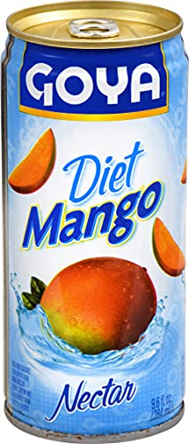 Goya Foods Diet Mango Nectar, 9.6 Ounce (Pack of 24)