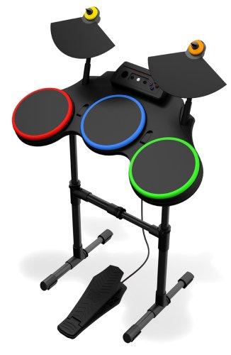 Activision Wireless Drum Kit Set for Guitar Hero World Tour / Band Hero