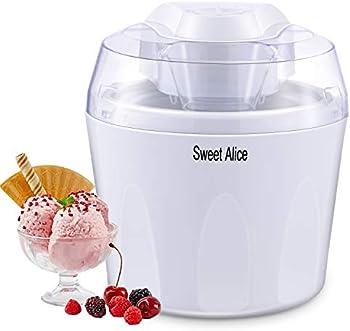 Sweet Alice BPA-free Auto Shut-off 1.5L Ice Cream Machine