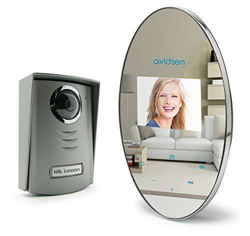 Avidsen 112268 sistema de intercomunicación de video - Timbre para puerta (Gris)