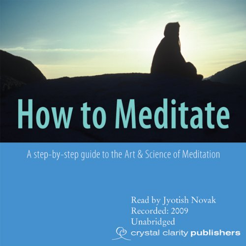 How to Meditate audiobook cover art