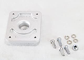 Fulton Trailer Jack Adapter Kit - Weld-On XP Jack Mount to F2 Swing-Up Trailer Jack for 3 x 4 inch F