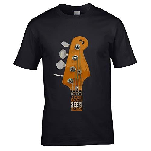 Sticker voor gitaar, lage kop, I May Be 65 jaar, motief 65 verjaardag voor heren