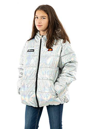ellesse Valina Quilted Jacket Mädchen Jacke XXL Silberfarben (silveririd)